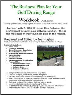The Business Plan for Your Golf Driving Range