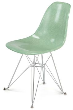 Fiberglass Shell Chair - Side Shell Eiffel Base DSR - Modernica