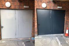 Recent Work - Painting & Decorating - Fire Escape Doors