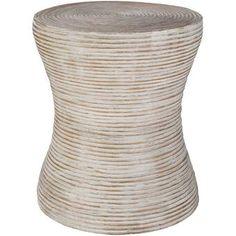 Mistana™ Izabella End Table & Reviews | Wayfair Round Accent Table, Round Side Table, Side Tables, Accent Tables, Décor Boho, Bohemian Decor, Bohemian Style, White Bohemian, Boho Chic