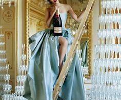 Champagne/moet/dress/fancy