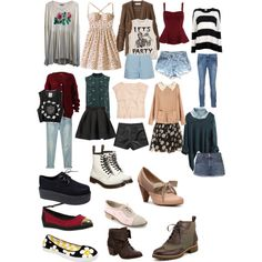 Soft grunge hipster clothes and outfits Check out the website to see more sooo cute Hipster Outfits, Indie Outfits, Grunge Outfits, Grunge Hipster Fashion, Hipster Stil, Style Hipster, Fall Outfits, Fashion Outfits, Womens Fashion