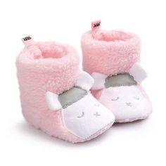 Pink sheep Cotton Winter Super Warm Shoes Infant Boots