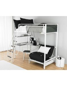 Room Marvelous S Bedroom White Futon Bunk Bed Design With Black Furniture Beds For Ideas Combining Climb Stair And Mini Desk Also