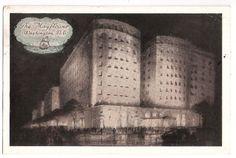 The Mayflower Hotel, Washington DC , postmarked 1938