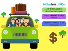 Car Rental Service For Uber & Lyft Drivers in los-Angeles - RideShare Rental Best Car Rental, Money Today, Earn Money, Delivery