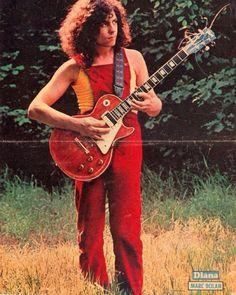 Marc w/ his favorite Gibson Les Paul