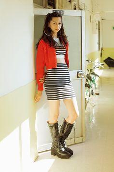 [FASHION] スクリーンのなかに飛び込んだファッションヒロイン中条あやみ - NYLON JAPAN Japanese Models, Japanese Fashion, Asian Fashion, Young Fashion, Japanese Girl, Asian Street Style, Types Of Fashion Styles, Girly Hairstyles, Asian Beauty