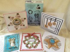 Birdcage Craft Studio  Five cards from one stamp set