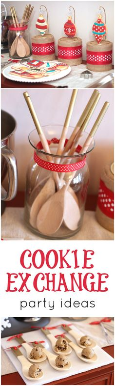 YUM! Cookie Exchange Party Ideas