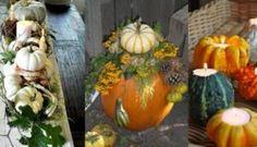 Wil je alvast je huis inrichten voor de herfst? Dan hebben wij hierbij iets leuks bedacht! Deze DIY is iets leuks en unieks voor op je tafel. Met wat simpele producten heb je dit zo Pumpkin Carving, Fall Decor, Decoupage, Table Decorations, Land, Groot, Home Decor, Autumn, Winter