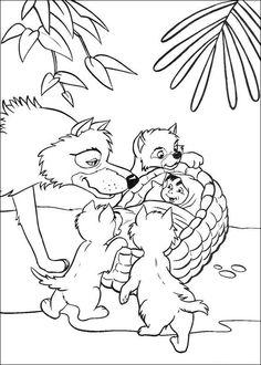 kleurplaat Jungle Boek - Jungle book