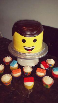 Lego movie cake Cakes by Rendy Lego Movie Cake, Lego Movie Birthday, Lego Movie Party, Movie Cakes, Lego Cake, 7th Birthday, Birthday Cakes, Birthday Ideas, Birthday Parties