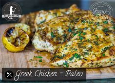 Greek Chicken – Paleo