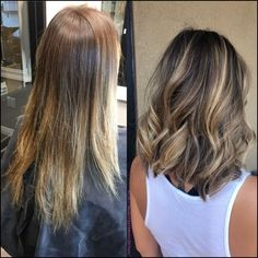 110 medium to long hair styles ombre balayage hairstyles for women 2019 pag - Hair and Hair Balayage Hair Blonde, Brunette Hair, Balayage Highlights, Bayalage, Short Hair With Balayage, Medium Hair Highlights, Medium Balayage Hair, Haircolor, Medium Hair Styles