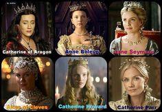 The Tudors - Henry's wives