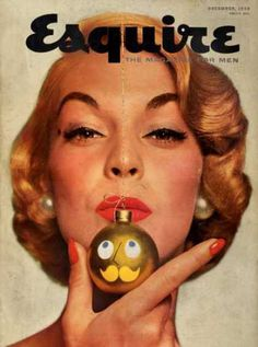 Christmas issue - Esquire Magazine Cover (1954)