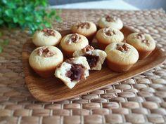 모찌꼬 / 찹쌀케이크 - 두가지 맛이 나는 쫀득한 찹쌀모찌꼬 만들기 : 네이버 블로그 Garlic, Muffin, Baking, Vegetables, Food, Food Food, Bakken, Essen, Muffins