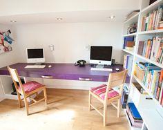 Purple desk top