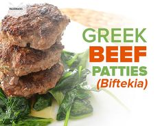 Who doesn't love a good burger? Especially if it's made with delicious Greek beef patties infused with traditional Greek flavors and spices!