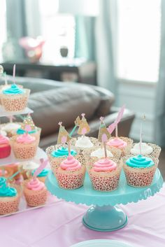 Wild One Birthday Party For A Little Girl Teal Blush Light Pink And Gold Love These Colors Julia Rose Photography Asheville NC Greenville SC