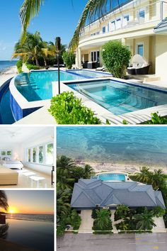 You won't need a vacation from these incredible home in the dreamiest locations!
