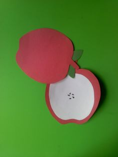 Crafts For Preschoolers: What's Inside An Apple Craft