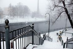 Tammerkoski / Tampere / Finland / Finnish winter
