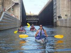 Above the Falls Sports - kayak the Mississippi River in Downtown Minneapolis