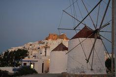 Astypalaia, windmills Windmills, Greek Islands, Greece, Louvre, Ocean, Building, Places, Travel, Greek Isles