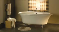 @BainUltra Balneo Cella Clawfoot Therapeutic #Bathtub - #vintage. To know more about the tub: http://www.bainultra.com/therapeutic-baths/our-collections/balneo