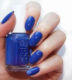 essie SPRING 2017 all the wave' a sapphire indigo