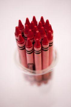 Color Rojo - Red!!! crayons