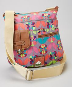Loving this Lily Bloom Floral Dot Camilla Crossbody Bag on Cute Purses, Purses And Bags, Colorful Fashion, Kids Fashion, Lily Bloom Bags, Side Bags, New Bag, Patch, Diaper Bag