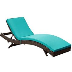LexMod Peer Outdoor Wicker Chaise Lounge Chair with Brown Rattan and Turquoise Cushions, http://www.amazon.com/dp/B00GS9RE4M/ref=cm_sw_r_pi_awdm_zSpDvb1N5QHWG