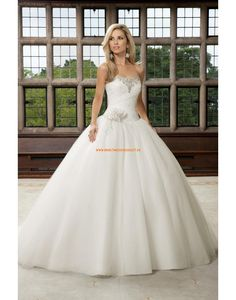RONALD JOYCE Außergewöhnliche Luxuriöse Ballkleidstil Brautkleider aus Softnetz
