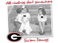 UGA Georgia Bulldogs Auburn Rivalry T-Shirt