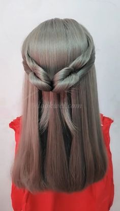 Different Long hairstyle idea – Beleza Braided Hairstyles Tutorials, Easy Hairstyles, Long Hairstyle, Girl Hair Dos, Hair Upstyles, Hair Streaks, Hair Transformation, Grunge Hair, Hair Videos