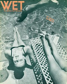 "Leonard Koren created Wet in conjunction with some of the artwork he was making at the time, which he called ""bath art"". 34 issues of Wet were published between 1976-1981, encapsulating the post-modern vibe of late 70s/early 80s Los Angeles.    It's pages included articles on hidden California hot springs, how to build a redwood hot tub, surf culture, the Venice skateboarding scene and artwork by David Hockney and Ed Rusha."