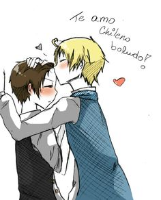 LH: Te amo chileno boludo by Fuko-chan on DeviantArt Latin Hetalia, Types Of Boyfriends, Wattpad, Hetalia Axis Powers, Tsundere, Deviantart, Anime, Latina, Apps