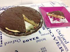 Torta Cheesecake com cobertura de chocolate  - para uma Páscoa com #foconadieta - Confira esta e outras receitas #dukan no Dieta e Receitas!
