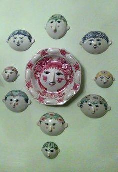 Wiinblad masks wall