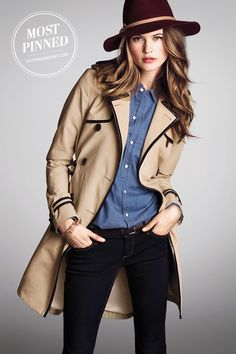 Faux leather adds a luxe touch to the coat on every fashionista's must-get list. | The Secret Trench