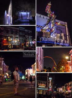 Universal Studios, FL at night | You Got Lucky Photography | Travel Photography
