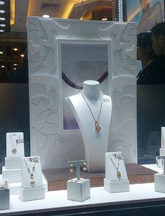 Diamond Window Displays~ Beautiful Back Board