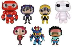 Pop! Vinyl - Big Hero 6 Collection SOLD OUT #Funko