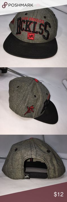 Los Angeles Rcklss hat Young & Reckless Los Angeles Rcklss hat Young & Reckless snapback raised letters. great condition Young & Reckless Accessories Hats