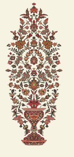 Textile Pattern Design, Textile Patterns, Textile Prints, Pattern Art, Robin Photos, Pichwai Paintings, Line Flower, Anemone Flower, Floral Artwork