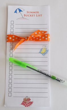 Bucket List Journal Summer Bucket List To Do by SincerelyYours123