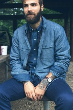 Oh you have a beard and tattoos, well hello then.